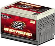 XS Power 16V AGM Lightweight Battery, 2000Amp Reserve-50min