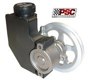PSC Steel Power Steering Pump with Reservoir & V-Pulley