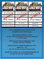 2014 Advanced Racing Tickets Available Now