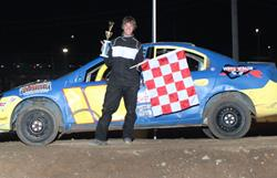 Swanson claims First Feature