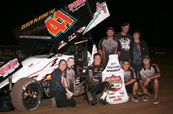 Jason Johnson Completes Lucas Oil ASCS Sweep at Cottage Grove!