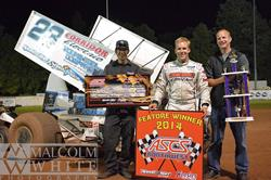 Bergman Sweeps ASCS Northwest Weekend at Cottage Grove Speedway