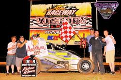 Mike Mueller Wins By A Matter Of Inches On Night #1 At The Open Wheel Nationals