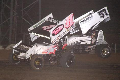 Lucas Oil ASCS Sprint Car Battle Shifts to Cottage Grove!