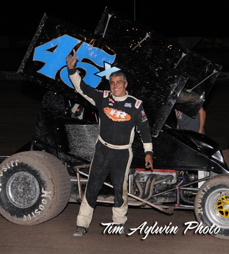 Herrera takes ASCS 305 Shootout Preliminary Night Win.
