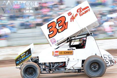 Van Dam Garners Best Career Finish in Rain-Shortened Dirt Cup