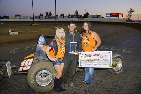 Kyle Miller Sweeps NWWT Weekend At GHR