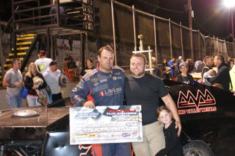 Jesse Williamson Wins Fourth CGS Modified Nationals Title; Horner And Pierce Also Pick Up Wins