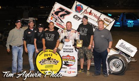 Wayne Johnson Charges to Lucas Oil ASCS Victory