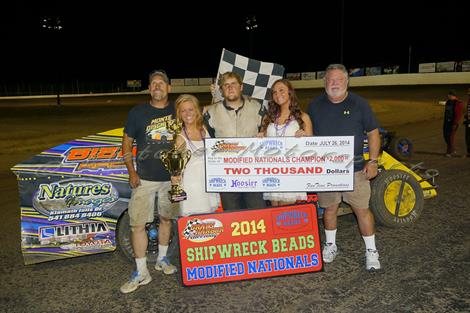 Nick Trenchard Wins 15th Annual Northwest Modified Nationals Finale!