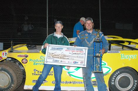 Trevor Glaser Wins CGS DIRTcar Super Late Model Feature On Outlaw Night