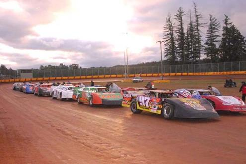 Sunset Speedway Park Practice Washed Out