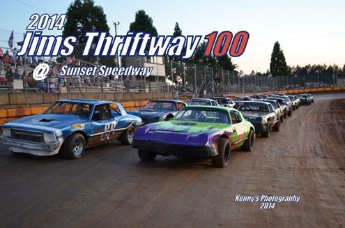 Tony Catalano Scores Jim's Thriftway Open Street Stock National 100; Schave, Tow, And Hallett Also Earn SSP Victories