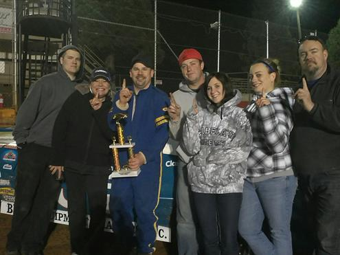 Loomis Wins First Street Stock Race Of '13