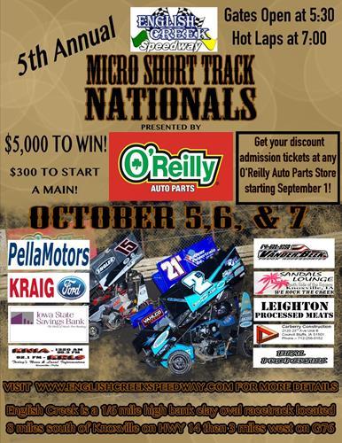 Iowa S Premier Outlaw Dirt Kart Race Track