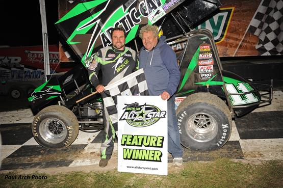 Kraig Kinser Opens 2016 Arctic Cat All Star Season with Win at Bubba Raceway Park