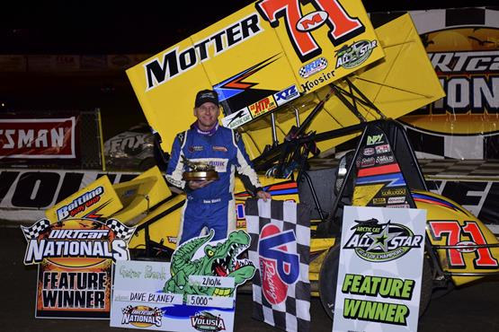 Dave Blaney Scores Arctic Cat All Star Opener at DIRTcar Nationals