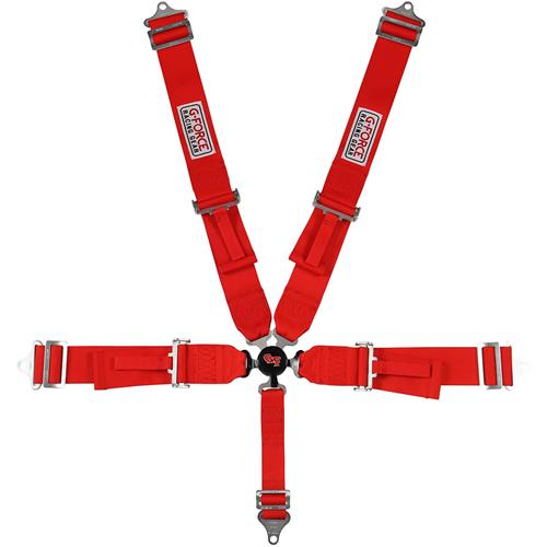 G-Force Camlock 5-Point Pull Down Seat Belt - Circle Track and Oval
