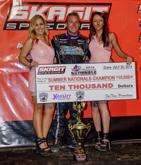 Bergman Crowned Champ at Bob's Burgers & Brew Summer Nationals