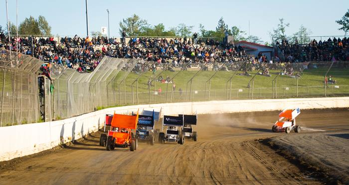 360 Sprint Cars Back in Action at Skagit this Saturday!