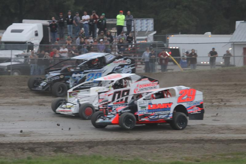Mod Lites: Saturday at Airborne - Plattsburgh Airborne Speedway News