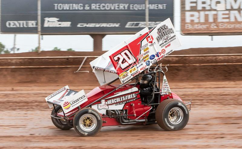 All Star Sprints >> Wilson Captures All Star Hard Charger Award At Lernerville And