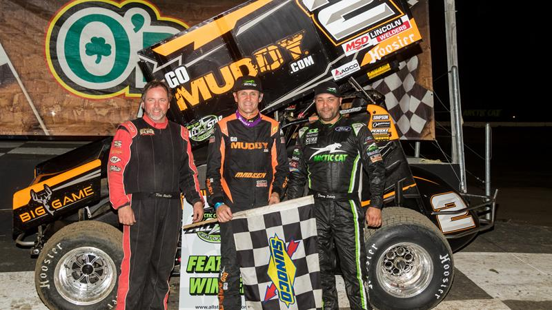 Kerry Madsen Stops The Sweep At Bubba Raceway Park All Star