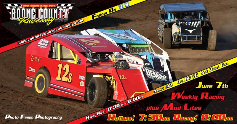 Nebraska Mod Lites Set To Invade BCR - Boone County Raceway