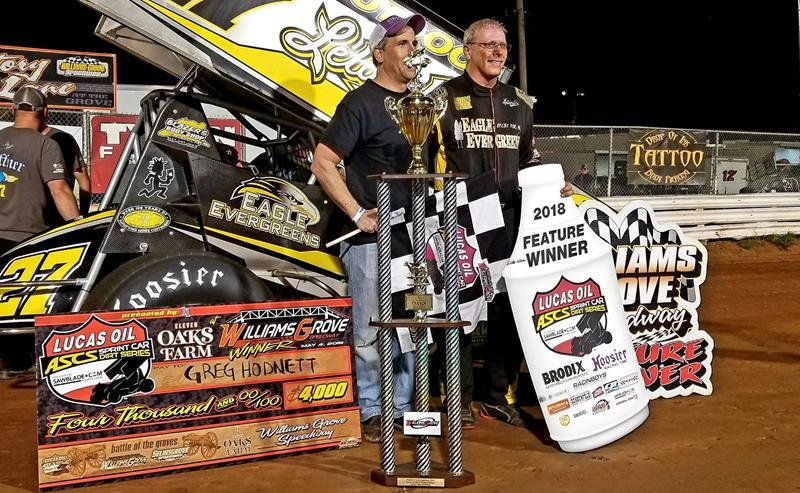 Sprint vehicle driver Greg Hodnett dies in crash