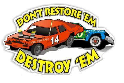 DEMO DERBY SEPTEMBER 16TH WINNER TAKE ALL Cottage Grove Speedway