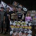 Justyn Cox Wins Caution Free S...