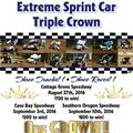 Extreme Sprint Car Triple Crow...