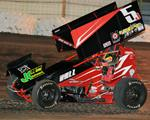 Ball Rebounds to Finish Fifth at 34 Raceway, Places Third in Sprint Invaders Championship Standings
