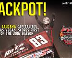 Saldana Hits Jackpot on First