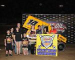 Martin Marches to Warrior Win at Lucas Oil Speedway!