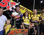 Jack Dover Wins ASCS Warrior R