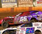 Tight Budweiser IMCA Modified