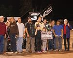 Carter, Sell, Clay, Ray, And Hansen Score July 25th Wins At CGS