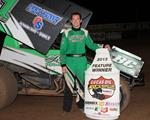 Crockett doubles up with Lucas Oil ASCS at Cottage