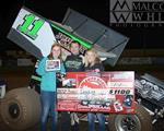Roger Crockett Wins Night One