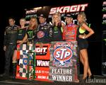 Schatz Drives to 18th World of Outlaws STP Sprint