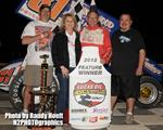 Last Lap Pass Propels Danny Wood to Lucas Oil ASCS