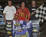 Mike Bonneau Sizzles at Canyon Speedway Park