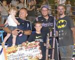 Greg Walters Wins Third Straight Baseline Pawn Firecracker 100 At Sunset Speedway Park