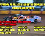 Sunset Speedway Park Looks To Get Season Opener In