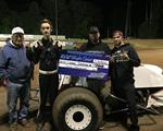 Cooper Desbiens Wins Wingless Sprint Series May 21