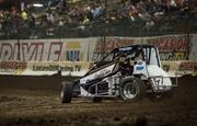 White Tackling USAC National Midget Series In