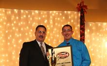 Heywood's Historic Championship Celebrated at Airborne Speedway Banquet