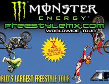 Monster Energy Freestyle MX THIS SATURDAY!