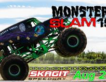 Monster Trucks Invade Skagit Speedway August 22nd